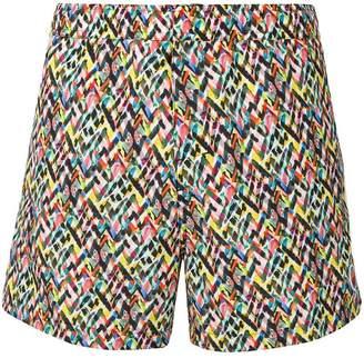 Missoni Mare all-over print swim shorts