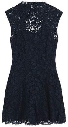 Sandro Open-Back Corded Lace Playsuit