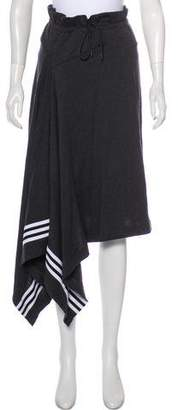 Y-3 Knit Asymmetrical Skirt