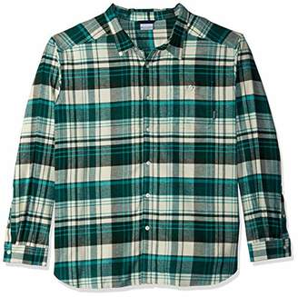 Columbia Men's Cornell Woods Big & Tall Flannel Long Sleeve