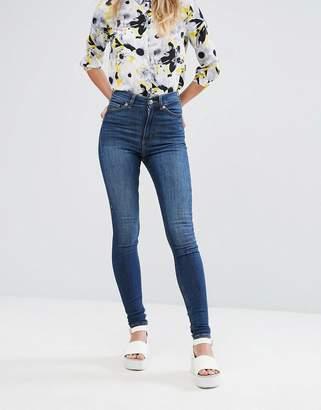 Monki oki skinny high waist jeans