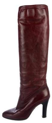 Pancaldi for Diane B Round-Toe Over-The-Knee Boots