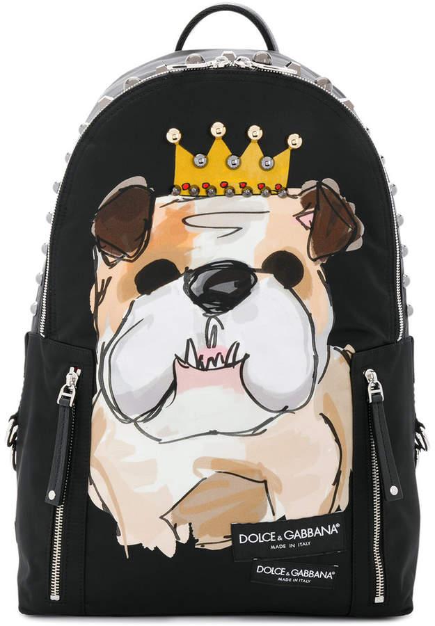Dolce & Gabbana Bulldog backpack