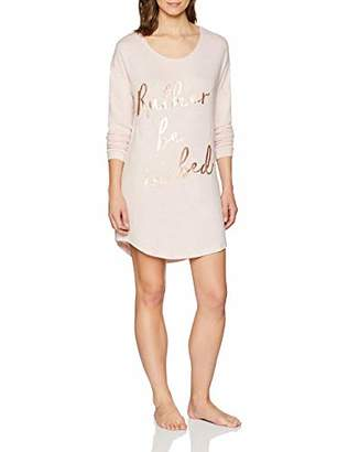 Boux Avenue Women's Rather BE in Bed Sleep TEE Nightie,Small (Size: S)