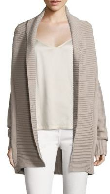 Vince Chunky Textured Cardigan $325 thestylecure.com