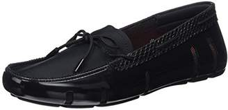 Swims Women's Lace Loafer Mocassins Black Size: