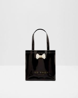 Bow detail small shopper bag $45 thestylecure.com