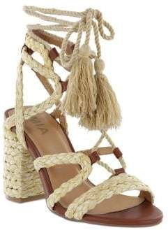 Mia Renita Lace-Up Sandals