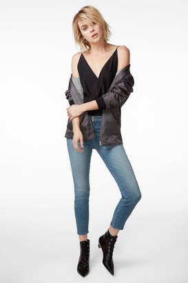 J Brand Alana High-Rise Cropped Super Skinny In Delphi