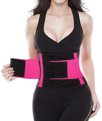 7f4cfc9cd7 HLGO Women s Waist Trainer Belt Body Waist Shapewear Adjustable Waist  Cincher Belt Weight Lost Waist Trimmer