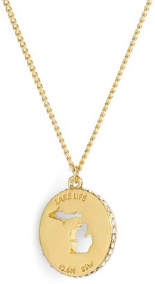 Women's Kate Spade New York 'State Of Mind' Pendant Necklace $58 thestylecure.com