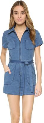 Joe's Jeans Soledad Romper $248 thestylecure.com