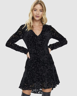 Cooper St Rosaline Long Sleeve Mini Dress