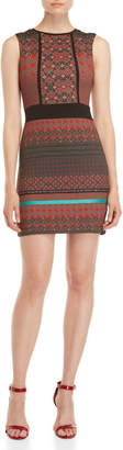 Desigual Printed Panel Sheath Dress