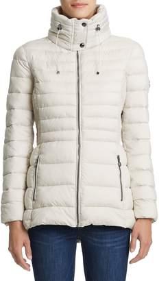 Bernardo Micro Touch Pongee Puffer Jacket