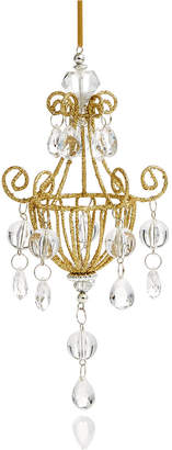 Holiday Lane Gold Beaded Chandelier Ornament, Created for Macy's