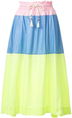 Mira Mikati colour block skirt