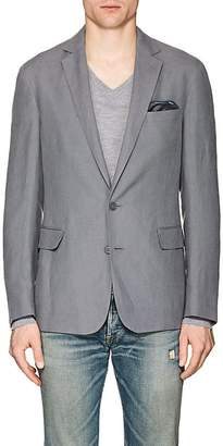 Ralph Lauren Purple Label Men's Hadley Slub Silk-Linen Two-Button Sportcoat
