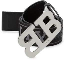 Bally Mirror Reversible Leather Belt