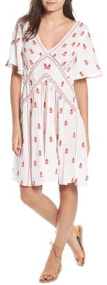 Raga Ruby Embroidered Dress