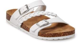 So SO Girls' Fashion Slide Sandals