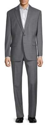 Lauren Ralph Lauren Slim-Fit Sharkskin Wool Suit