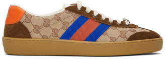 Gucci Camel G74 Sneakers