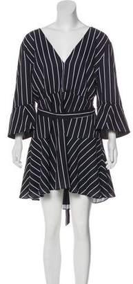 Fame & Partners Striped Mini Dress w/ Tags