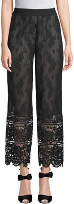 Anna Sui Garden Lace Pant