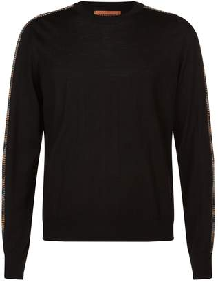 Missoni Wool Striped Sleeve Sweater