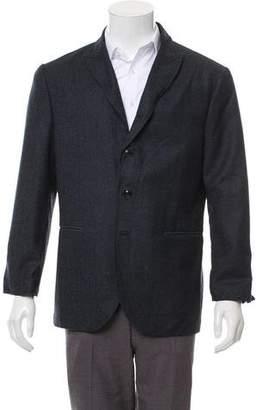 John Varvatos Tweed Virgin Wool Blazer