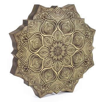 Krasen Dom Wooden Mandala Wall Art