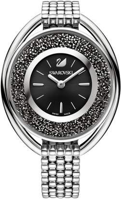 8da2df075ee0 at House of Fraser · Swarovski Crystalline Oval Black Bracelet Watch