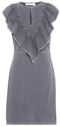 See by Chloe Sleeveless denim minidress