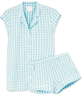 Three J NYC Olivia Printed Cotton-voile Pajama Set - Mint