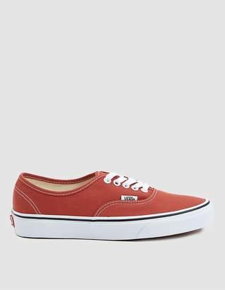 Vans Authentic Sneaker in Hot Sauce
