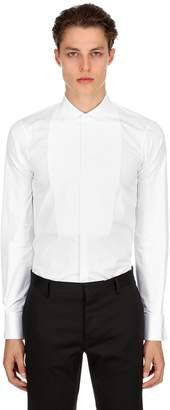 DSQUARED2 Slim Fit Cotton Poplin Evening Shirt