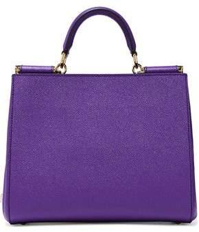 Dolce & Gabbana Textured-Leather Shoulder Bag
