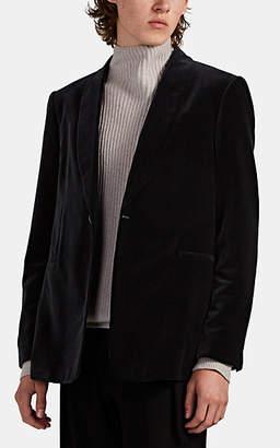 The Row Men's Archer Velvet One-Button Dinner Jacket - Black