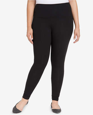 Lysse Women's Plus Tight Ankle Cotton Leggings