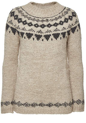 Woolrich Pullover with Wool and Alpaca
