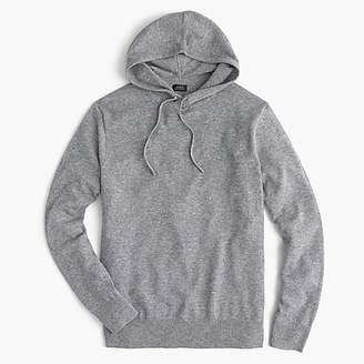J.Crew Everyday cashmere hoodie in grey