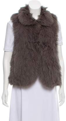 Theory Fox Fur Vest