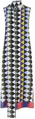 Akris Silk Diamond Dress