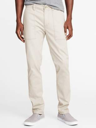 Old Navy Relaxed Slim Built-In Flex Utility Pants for Men