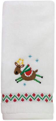 "Dena CLOSEOUT! Flying Reindeer 16"" x 28"" Hand Towel"