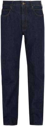 Calvin Klein Embroidered high-rise jeans