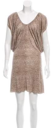 Mara Hoffman Spot Print Silk Dress