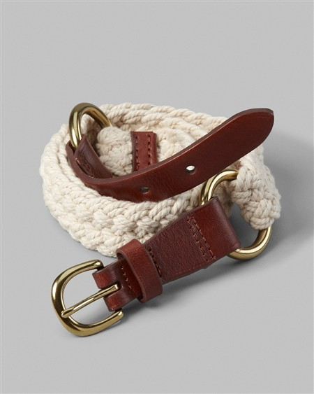 Chico's Corded Nickolai Belt
