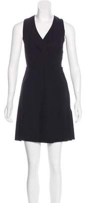 Proenza Schouler Surplice Mini Dress